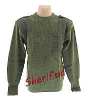 Свитер армейский пуловер MIL-TEC BW акриловый Olive 10803001