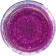 Глиттер фиолетовый, 80г (150мл)
