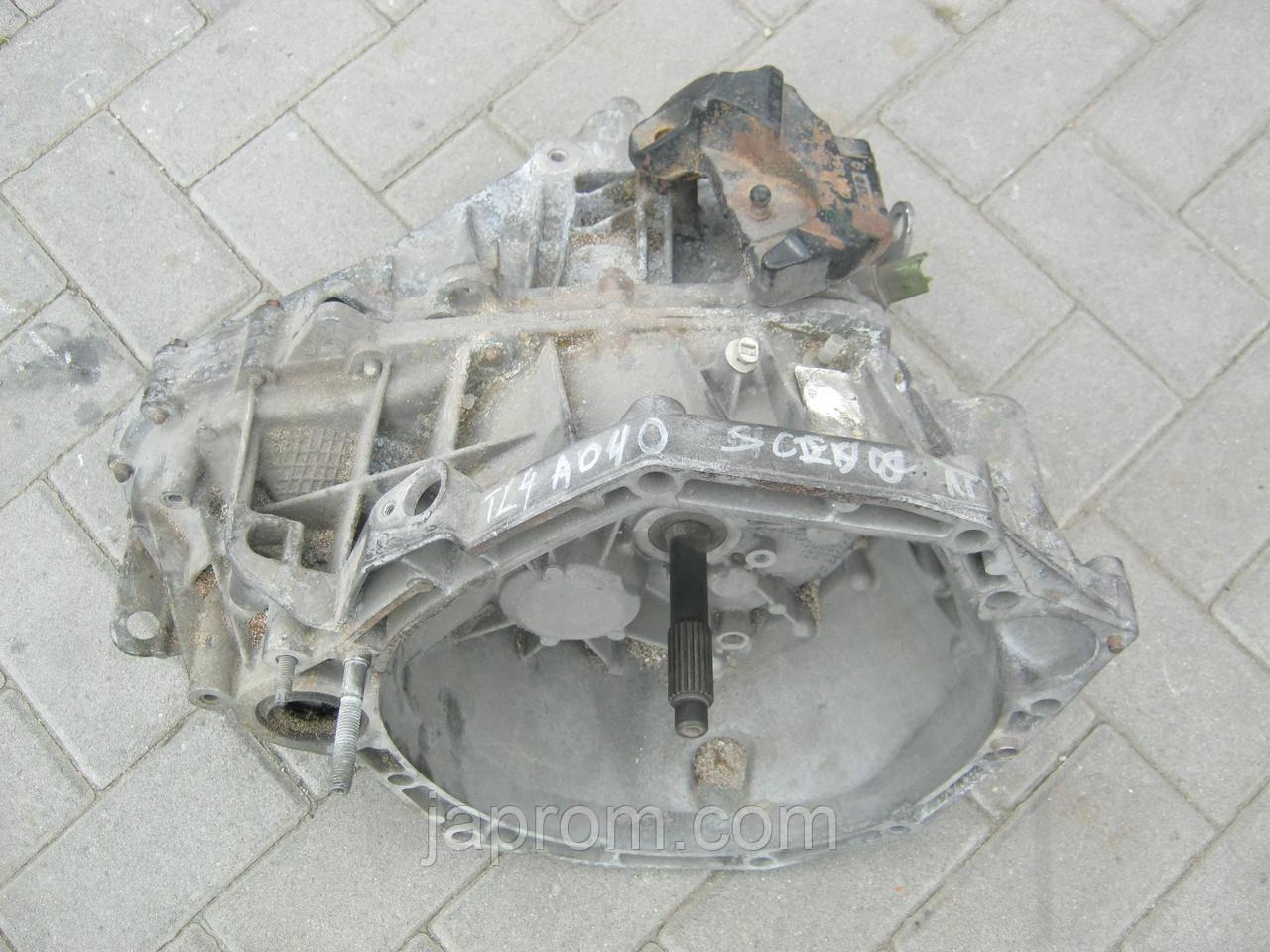МКПП механічна коробка передач Renault Megane Scenic III 1.5 DCI TL4 A040