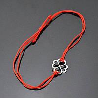 Преимущества серебряного браслета с красной нитью