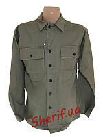 Рубашка армейская MIL-TEC US хлопок WWII OD 18505100