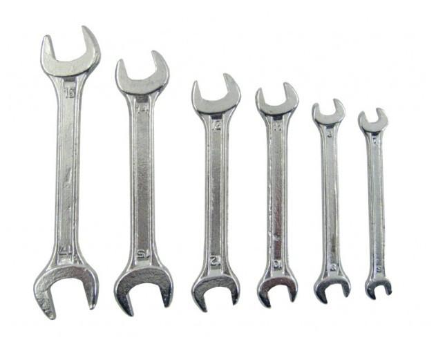 Набор ключей CarCommerce 6-17 мм 6шт 50560