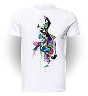 Футболка GeekLand Джокер Joker радужный JO.01.001