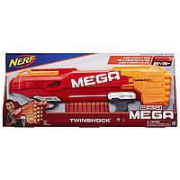 Бластер Нерф Мега ТвинШок Nerf N-Strike Mega  TwinShock, фото 1