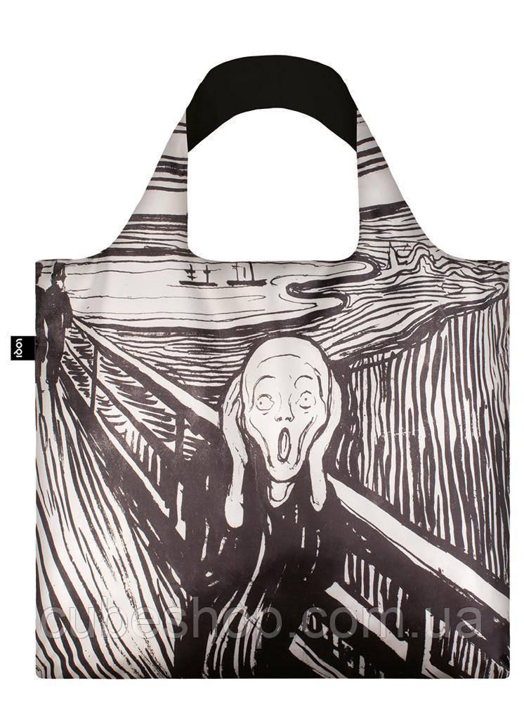 Сумка для пляжа и покупок EDVARD MUNCH The Scream 1895 LOQI