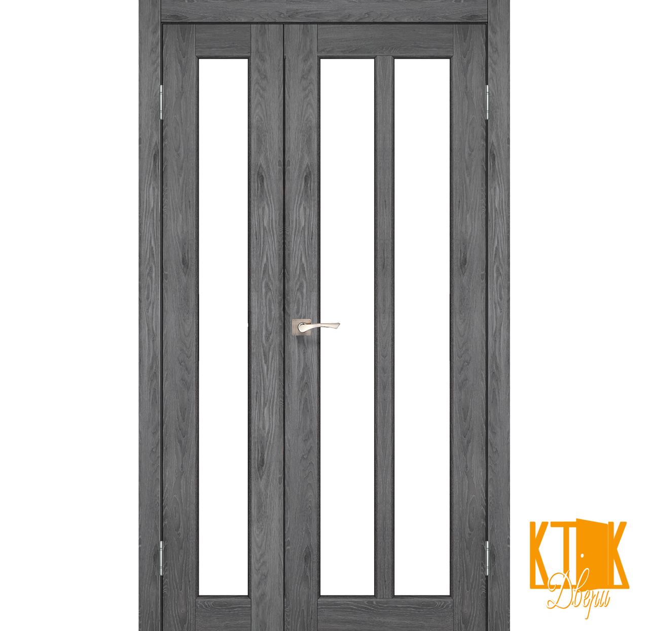 """Міжкімнатні двері колекції """"Torino"""" TR-04 (дуб марсала)"""