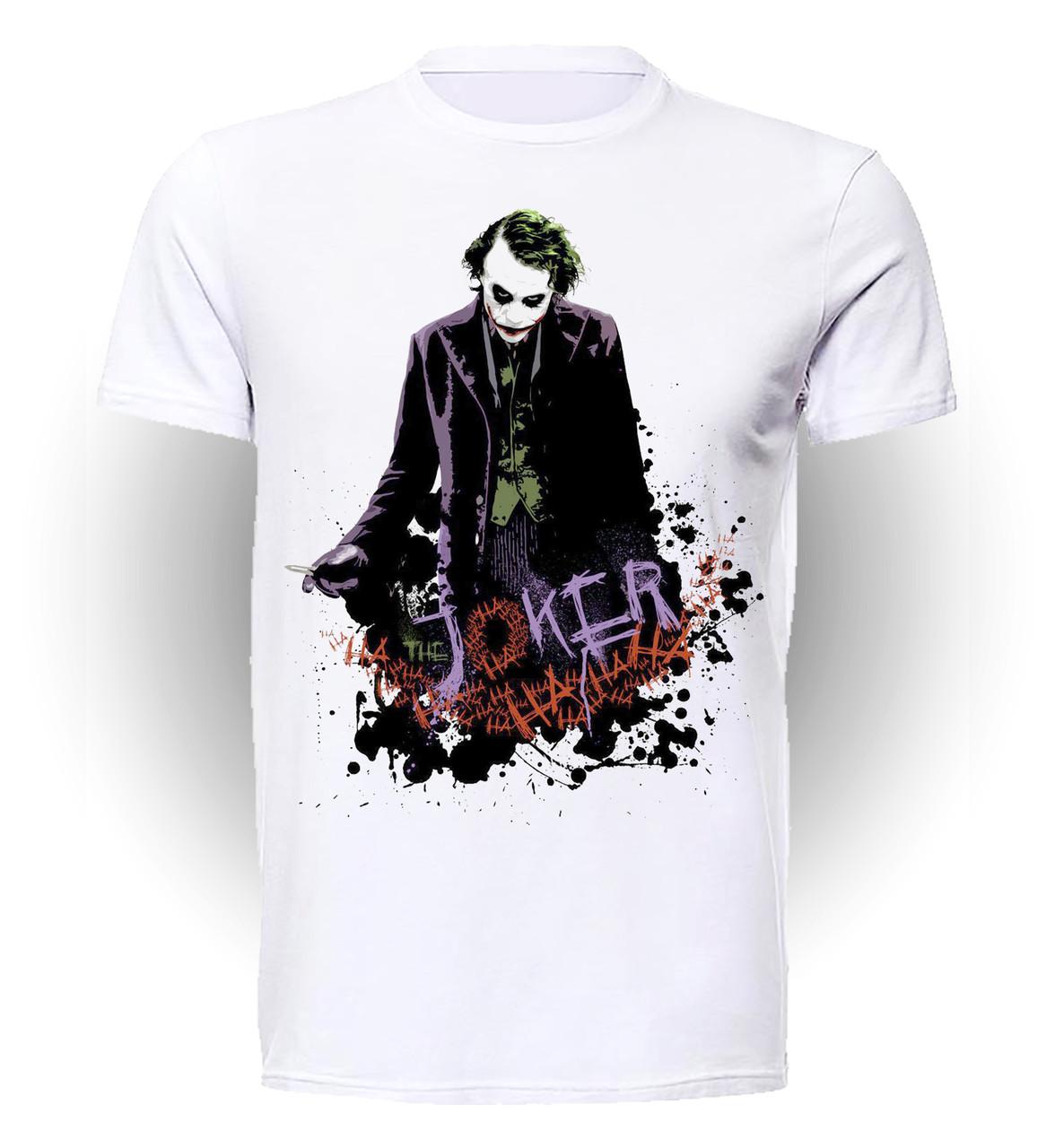Футболка GeekLand Джокер Joker в кляксах JO.01.004