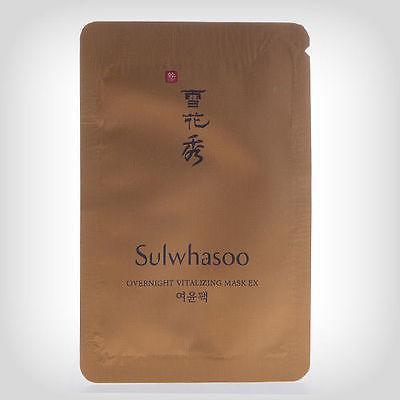 Sulwhasoo Ночная маска Пробник Overnight vitalizing mask EX 5ml