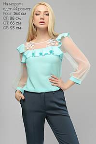 Блуза 2082 голубой