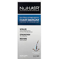 Natrol, NuHair, сыворотка для волос, подходящая мужчинам и женщинам, 3,1 ж. унц. (90 мл), фото 1