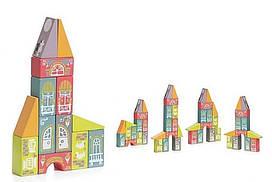 Деревянная игрушка Конструктор Cubika Сказочный город LKM-1 (12336)