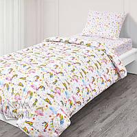 Сказочные единороги, комплект постельного белья подростковый, фото 1