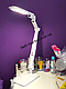БЕЛАЯ Светодиодная  лампа LED Brille для наращивания ресниц, ногтей, фото 3