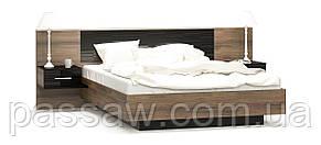 """Кровать с ортопедическим каркасом и прикр.тумбами """"Фиеста""""  Mebel Service"""
