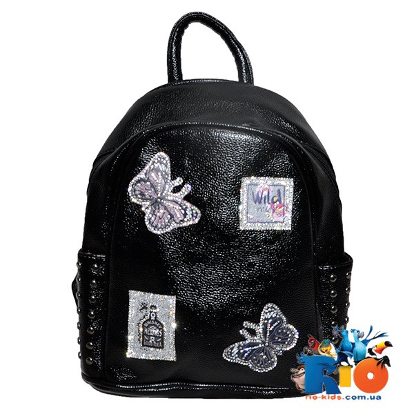 Школьная сумка (рюкзак) 31х26 см для девочки(мин.заказ-1 ед)