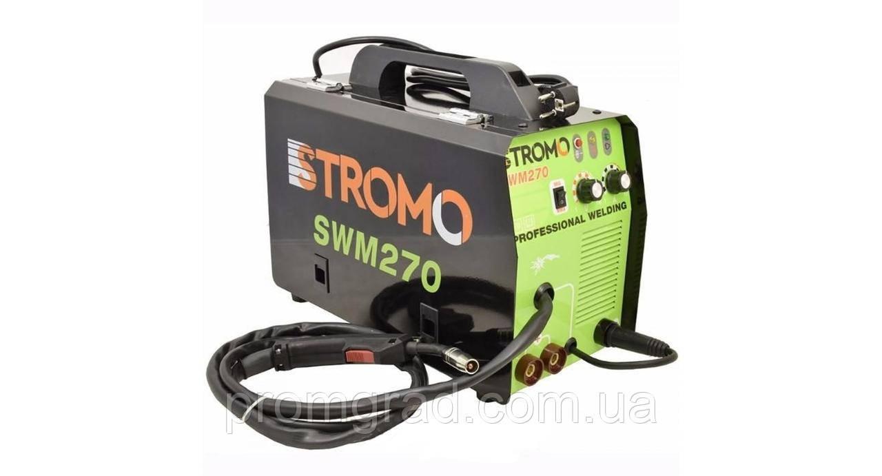 Зварювальний інвертор напівавтомат STROMO SWM270