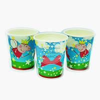 Праздничный стаканчик - Свинка Пеппа - 10 шт., фото 1
