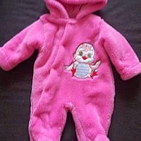 Комбинезон человечек для новорожденного утепленный, фото 1