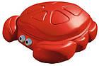 Пісочниця дитяча Краб із кришкою Step 2 7405 для дітей, фото 2