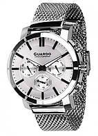 Чоловічі наручні годинники Guardo S01677(m) SW