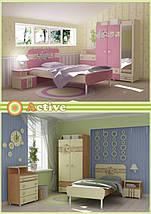 Кровать+стол+шкаф Bs-16-3 Active, фото 3