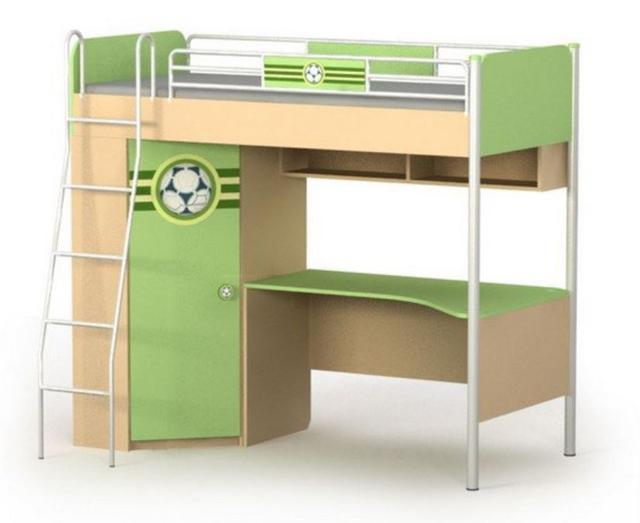 Кровать+стол+шкаф Bs-16-3 Active