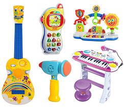 Музыкальные и Обучающие Игрушки