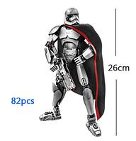 Звёздные войны Star Wars Капитан Фазма конструктор аналог Лего