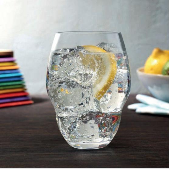 Комплект хрустальных стаканов 465 мл 2 шт