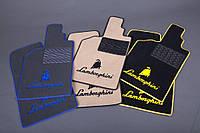 Автомобильные текстильные коврики для салона Lamborghini Gallardo(cabrio)(L140) 2006-2013 черный Premium