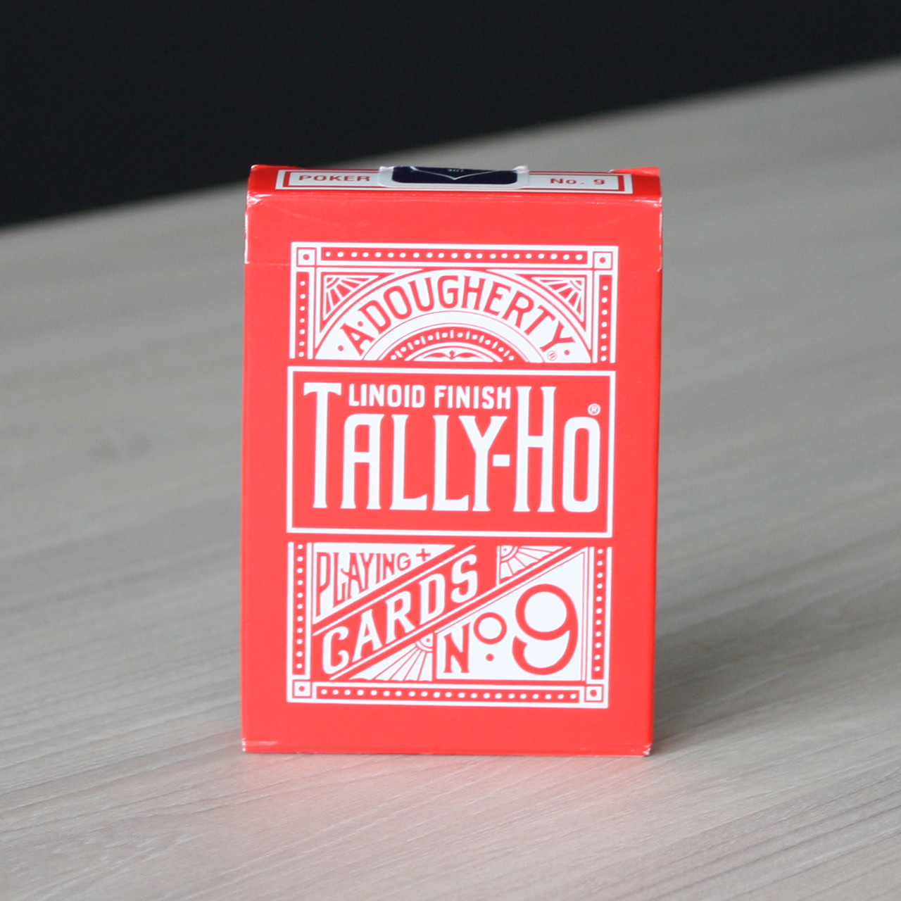 Карты игральные | Tally Ho Reverse Fan back (Red)