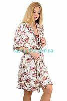 Бамбуковый Комплект Халат И Ночная Рубашка3
