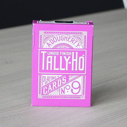 Карты игральные | Tally Ho Reverse Fan back (Lavender), фото 2