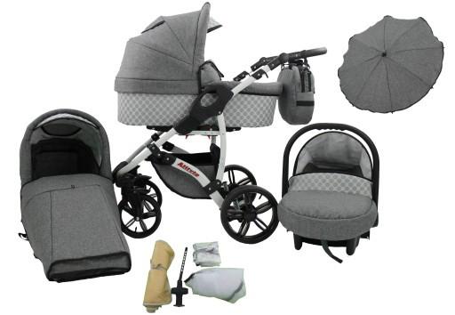 Многофункциональная детская коляска KAREX ALLIVIO 3в1