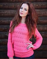 Женский свитер Паутинка 001 разные цвета, фото 1