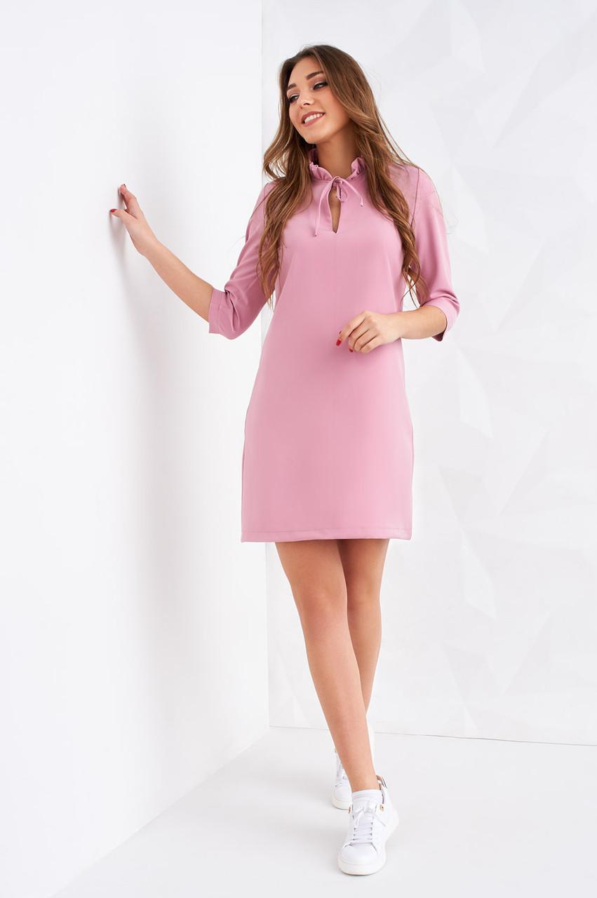 2fc5a2c956f2aed Розовое платье для вечеринки вырез-капелька от оптово-розничного ...