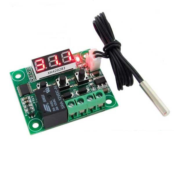 Терморегулятор,термостат,Реле -50 - +110 12V (W1209)