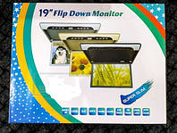 Потолочный монитор в авто Super Slim 19 дюймов Full HD (1920x1080) Читает все форматы с флешки, фото 1