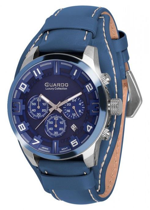 Мужские наручные часы Guardo S01740 SBlBl