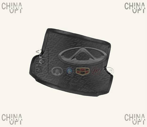 Коврик багажника резиновый, Chery Amulet [до 2012г.,1.5], CRCHA11, MEGA LOCKER