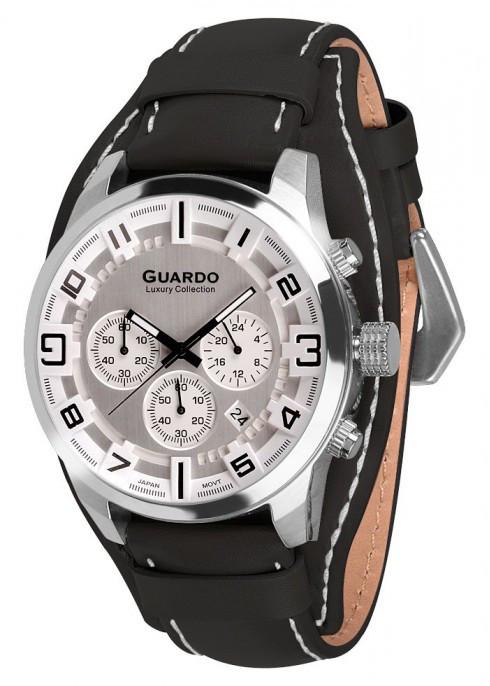 Мужские наручные часы Guardo S01740 SWB