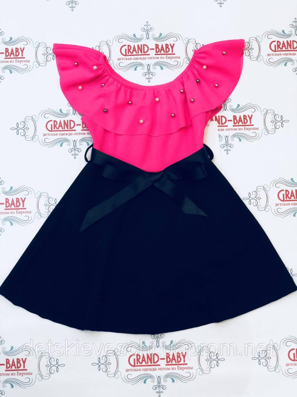 505243f7e30 Детский стильный сарафан для девочки .Италия - GRAND-BABY.COM.UA в