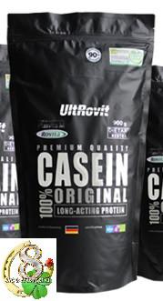 ULTROVIT Казеин 90% CASEIN original (Plasvita M) NATURAL 900 g