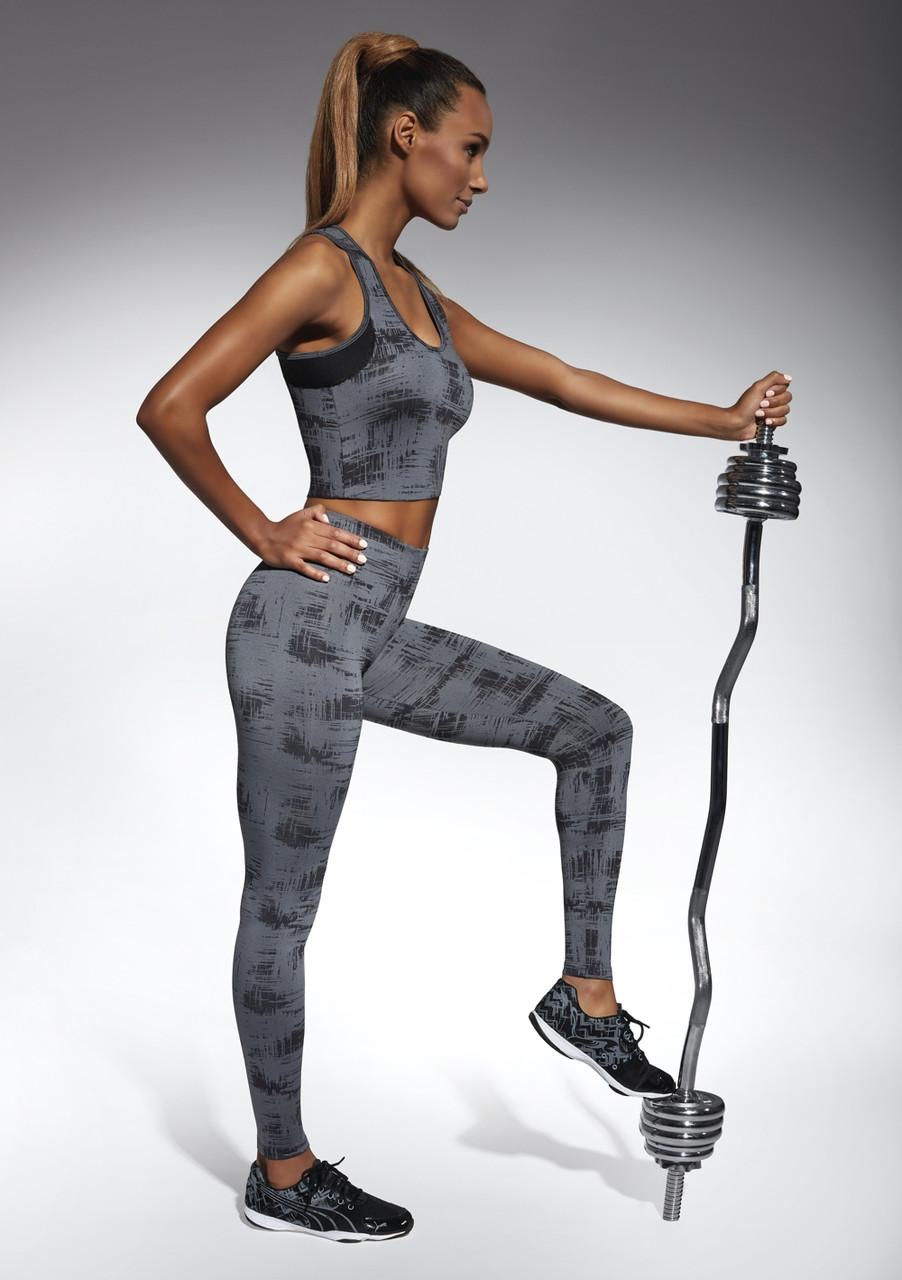 Спортивні жіночі легінси BasBlack Intense (original), лосини для бігу, фітнесу, спортзалу