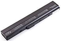 Батарея Asus A40, A42, A52, A62, B53, F85, K42, K52, K62, A32-N82, A42-K52, 10,8V 4400mAh Black