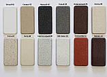 Мийка кухонна гранітна подвійна Argo Gemelli White 770*470*190, фото 4