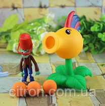 Игрушка Растения против зомби Петушок Горохострел Plants vs zombies