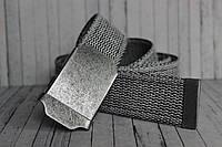 Тканевый ремень серый Jeans