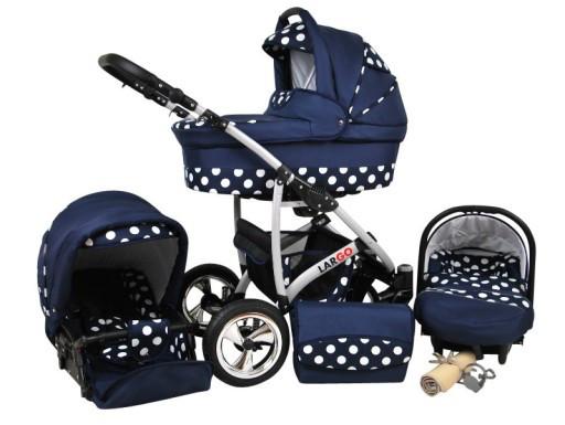 Многофункциональная детская коляска RAF-POL LARGO 3в1