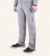 Спортивные брюки F-50 - 10251C серые-черные